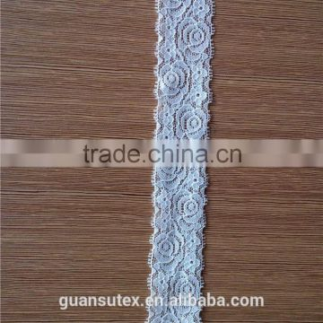 French Chantilly Tokay Trimming Lace For Textile/Apparel/Underwear Accessories
