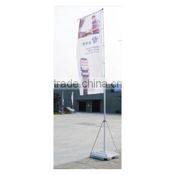 AD2101-5 Outdoor 5 meters water flooding flag pole stand for advertising banner display flag