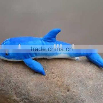 sea animal dolphin shaped plush toy
