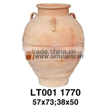 Vietnam Classic White Wash Terracotta Planter For Manufacturer