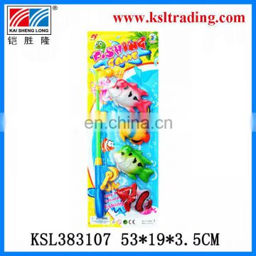 kids plastic toy fishing set for sale