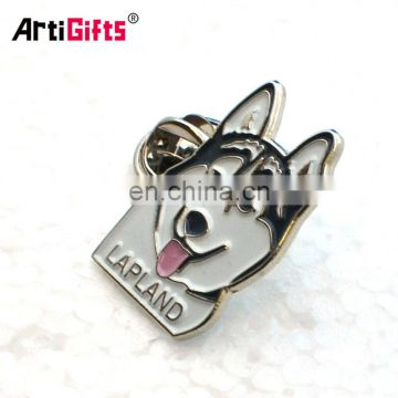 Customized cheap metal firefighter detective military dog badge holder