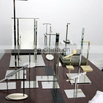 Finish machining valuables promotion display racks and cabinets