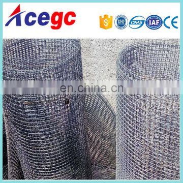Sand gravel stone classifier trommel screen,gold wire screen mesh