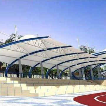 Tension Membrane Structure Sport Facilities Self-cleaning