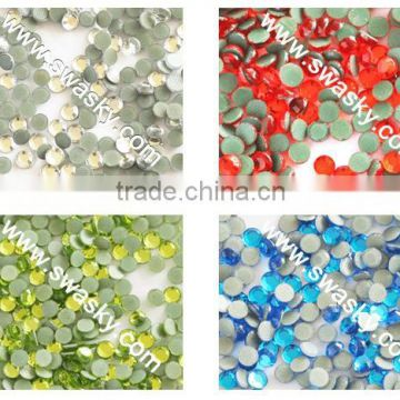 High Qulity Hotfix Wedding Korea Rhinestone Colorful Transfer Supplier