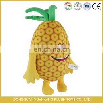 cartoon fruit plush pineapple toy