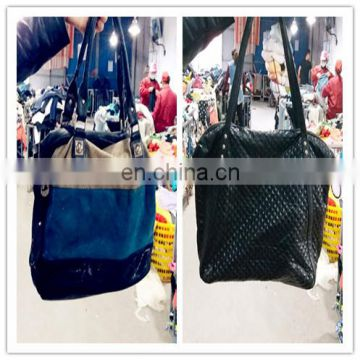 Cheap price Used designer lady genuine leather bag High standard used bags in bales
