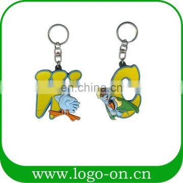 Professional Supplier Customized Soft Pvc Keychain Personalized Keychain