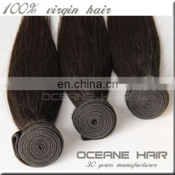 Human hair Heze direct factory selling brazilian human hair weave