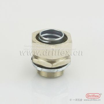 Driflex Brass Silver Nickel Plated Conduit Fitting Conduit Connector ip67