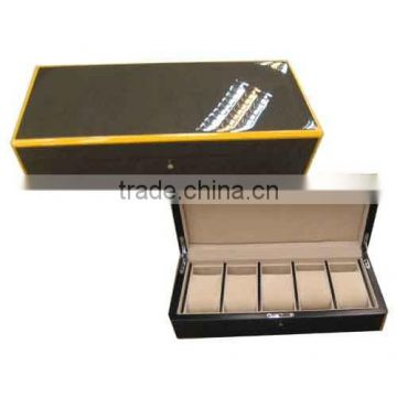 high end piano lacauer wooden watch gift box