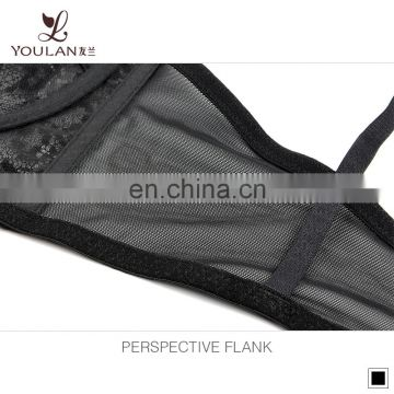 Wholesale beautiful magic full transparent big size women sex bra underwire push up design
