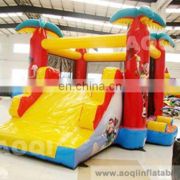 AOQI best design inflatable toy inflatable combo funny inflatable bouncer with slide for kids