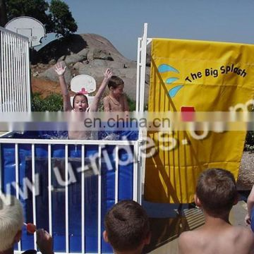 Guangzhou inflat dunk tank for chilren in party