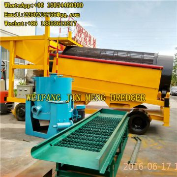 Easy Operate Gold Mining Machinery No Pollution 100t/h