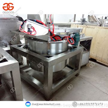 Automatic vegetable snack food Potato Chips Fried Food Deoiling Machine