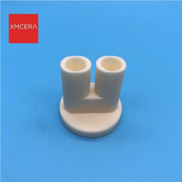Xinxitec 99%Alumina ceramic bushing insulator  in semiconductor