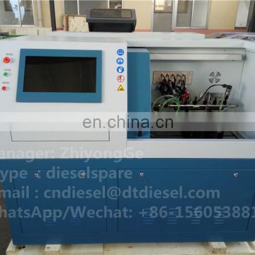 Best quality common rail test bench CR816 with best quality Flowmeter and test 6 pieces injectors together