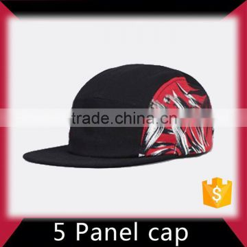 High capability discount 5 panel hat with 100% cotton fabric