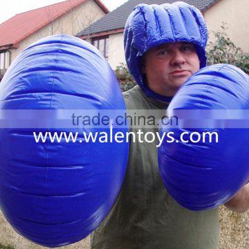 "21"" Inflatable Boxing Gloves for Kids to Adult"