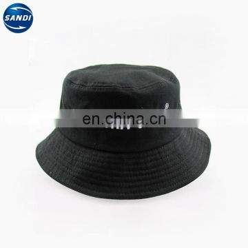 Promotional plain custom sun bucket cap with LOGO
