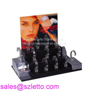 Acrylic wine stopper display holder