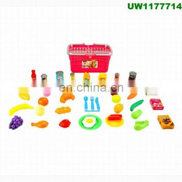 bd7eeb92b9e6 ... Play Food Set for Kids   Toy Food for Pretend Play - Huge 125 Piece Play