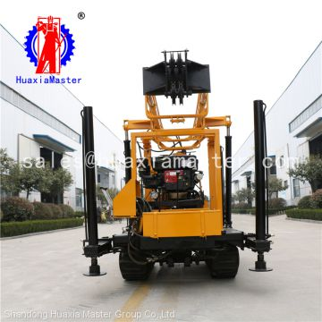 China full hydraulic crawler-type rock drill, core sample drilling rig machine from hauxiamaster for sale