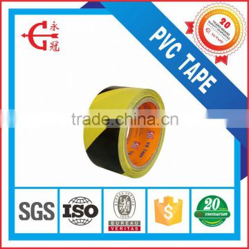 YG TAPE brand High Quality PVC masking tape Acrylic Waterproof floor marking tape strong adhesive floor tape for industrial