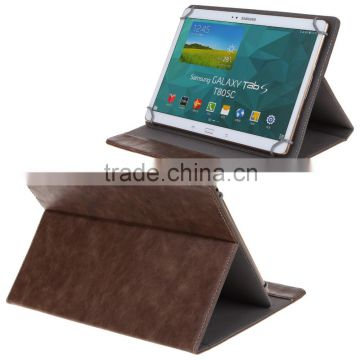 Universal Ultrathin PU Leather Book Flip Case Bag Cover Etui 12 10 8 7 6 inch Holder Stand for galaxy tab Shield Stock