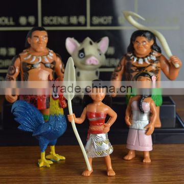 Custom moana toy princess action figure