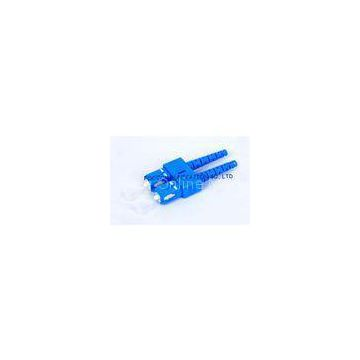 XSC SM 9 / 125um Duplex 3.0mm Fiber Optic Connector For WAN And LAN