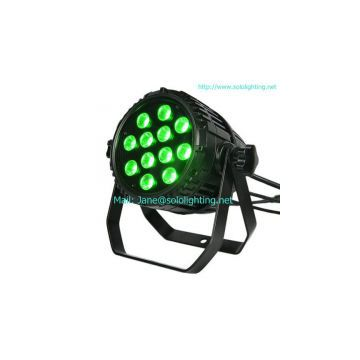 12X12W R/G/B/A/W/UV LED Par Light (Outdoor Rated)