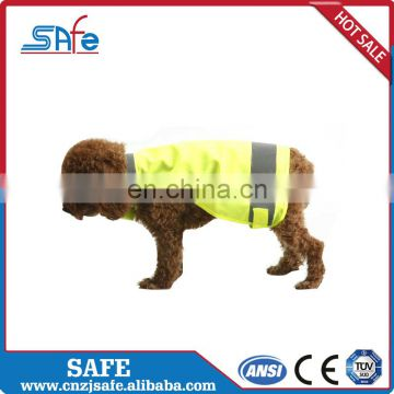 Orange color reflectorized service dog high visibility weight vest