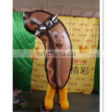 hotselling!!!2017 New Design Advertising Hot Dog Inflatable