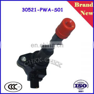 High Performance and best quality largest stock Brand new Auto Ignition Coil For Japanese Cars OEM 30521-PWA-S01