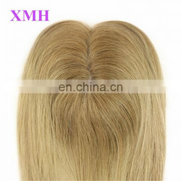 Wholesale 100% European Virgin Silk Top Human Hair Topper