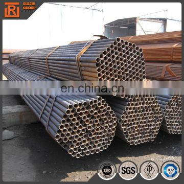 Mild steel black tube, steel pipe use for building