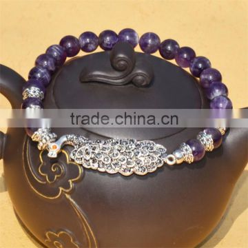 Latest design accessories for women wholesale charms bead bracelets