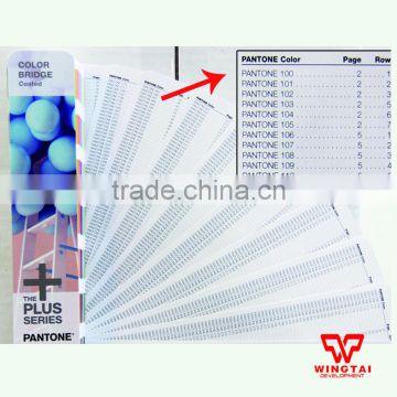 Gp6102n Pantone Color Bridge C U Set Fabric Color Books Of Color