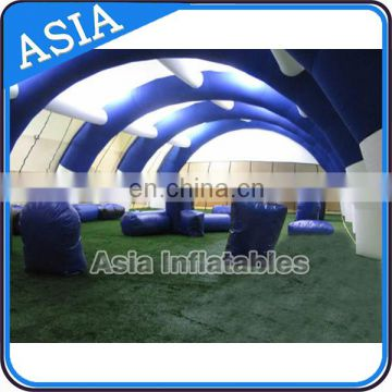 Customized Tunnel Shape Inflatable Painball Field In Advertising Inflatables