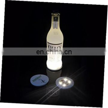 led light up bottle light glorifier sticker bottle glow coaster