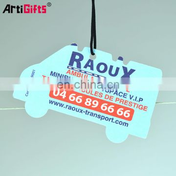 New Product absorbent air freshener car perfume paper