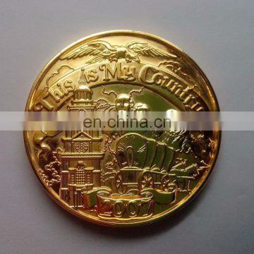 3D Faces Figures Metal Brass Custom Souvenir Coin Medal Medallion