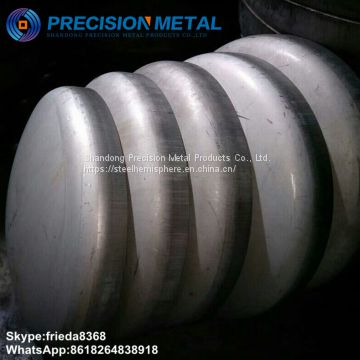 stainless steel heads in ASME 2:1 Elliptical and flanged & Dished heads
