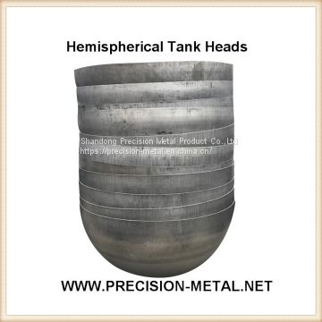 hot selling Dia 600mm Thk 0.36mm 304 stainless steel water tank covers for horizontal tank