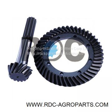 Tractor Spare Parts Crown Wheel Pinion Set For TT75