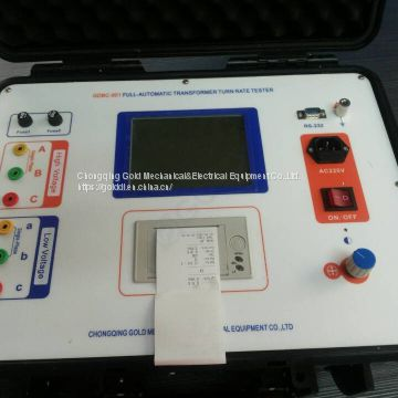 GDBC-901 Automatic 3 Phase Transformer Turns Ratio Tester, TTR Meter