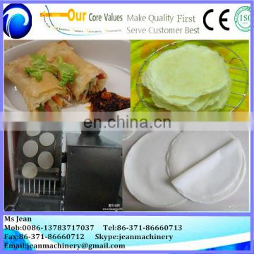 NEW MODLE spring roll pastry making machine/spring roll making machine price /pastry sheet making machine